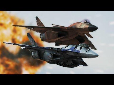 Ace Combat Infinity (Mission 7) Area B7R (CFA-44 Nosferatu)