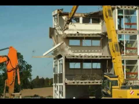 Manor Hall Demolition