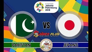 MEN'S FOOTBALL ASIAD 2018 || Pakistan VS Japan 16/08/2018