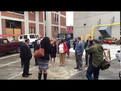 Lt. Governor Karyn Polito Visiting Edge Union Station