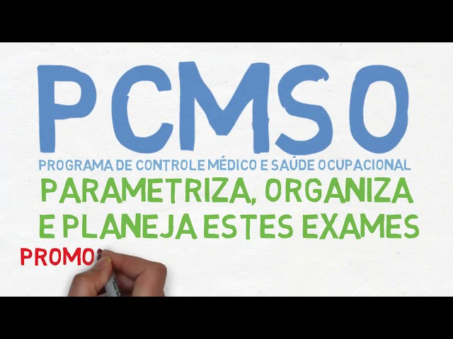 PCMSO: O que é e para que serve.