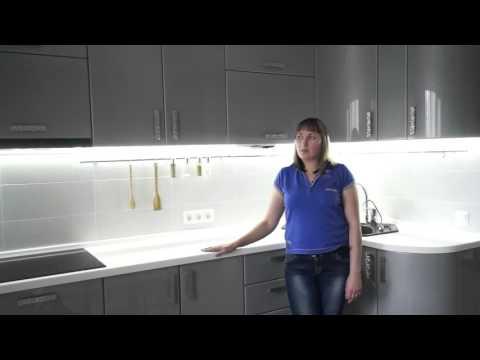 Кухни на заказ в Омске. Кухни Аритэ