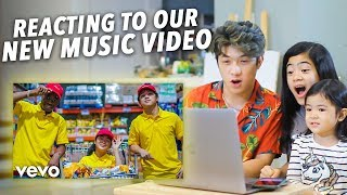 Download lagu Reacting To Our New Song
