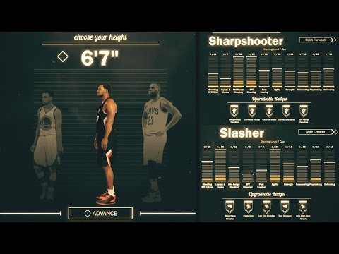 NBA 2K17 - 5 ARCHETYPES THAT WORK PERFECTLY TOGETHER IN NBA 2K17