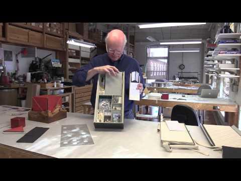 Daniel Kelm Demonstration of His Books and Bindings