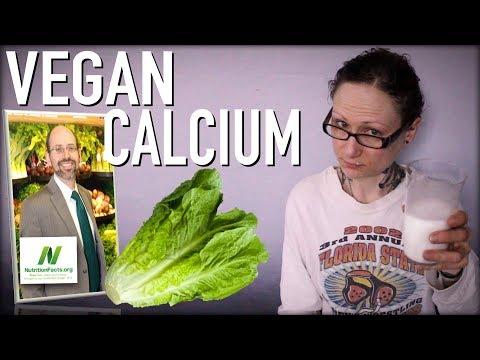 Got Calcium? Dairy Free Vegan Calcium Sources | Dr  Michael Greger of Nutritionfacts.org