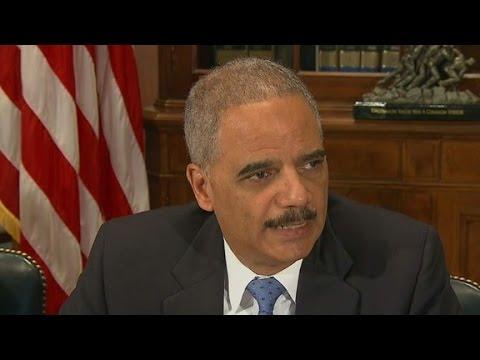 Holder: Federal Ferguson investigations still ongoing