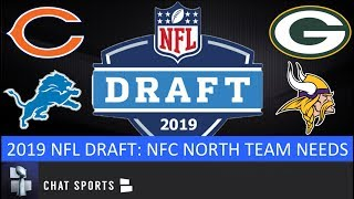 NFC North Needs: Bears, Packers, Vikings & Lions For 2019 NFL Draft