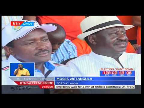 The fight for Wajir gets hot as NASA and Jubilee make political camps