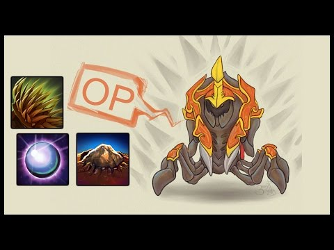 Dota 2 Mods | COMPLETELY OP FOUNTAIN CAMPING! 160 KILLS!! | Baumi plays Legends of Dota