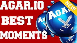 Agar.io Best Moments Compilation ★  Amazing Tricks And Moves ★