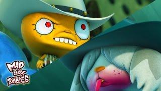 Zombie animation: Zombie Cowboy Western (Part 2) - Mad Box Zombies