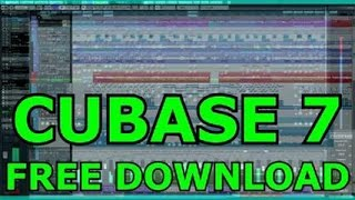 Steinberg cubase 7 free download (Cracked -Tested)
