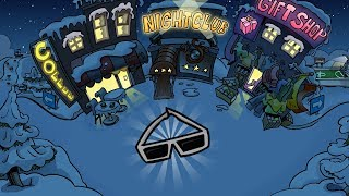 Club Penguin Rewritten-Island Eclipse Mini Event!