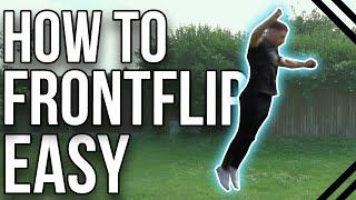 How To Frontflip | Begİnner Tricking & Freerunning Tutorial
