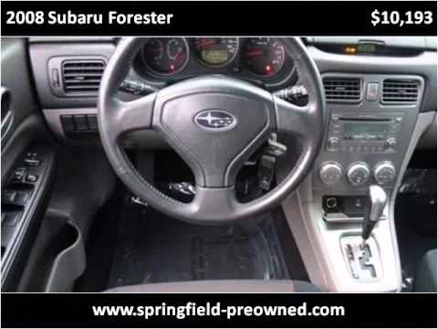 2008 subaru forester used cars springfield mo youtube. Black Bedroom Furniture Sets. Home Design Ideas