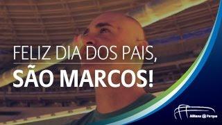 Allianz Parque prepara surpresa de dia dos pais para Marcos