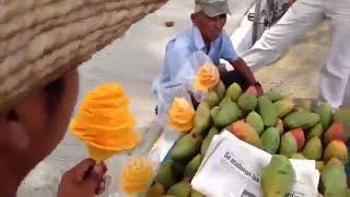 Art Of  Mango Feeling | Creative Way of  Mango Cutting