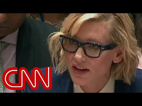 Cate Blanchett addresses Rohingya crisis at UN Security Council