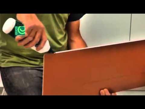 Eucafloor instalação de piso laminado com cola - YouTube