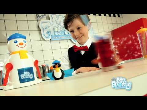 Cool Create Mr Frosty Ice Crunchy Maker TV Advert