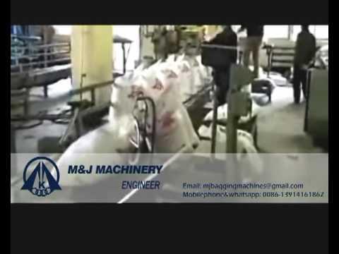 urea bagging machine 600-800bag/hour, bulk bag urea fertilizer packaging line