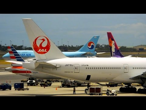 Honolulu (HNL) Spotting - Hawaiian/Delta/Alaska - Boeing 767-400 & More - Spotting Series Ep. 109
