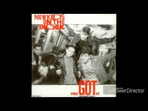 New Kids On The Block-You Got It (The Right Stuff) (Full CD Single Album)
