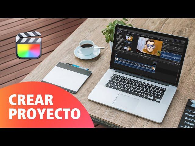 Cómo Crear un Proyecto en Final Cut Pro 🎬