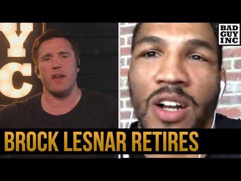Kevin Lee talks Brock Lesnar's retirement...