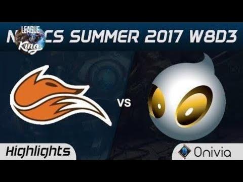 FOX vs DIG Highlights Game 2 NA LCS Summer 2017 Echo Fox vs Dignitas by Onivia new 2017