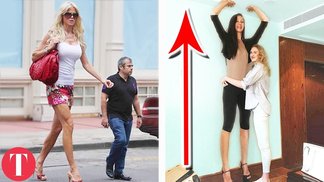 Tall women height