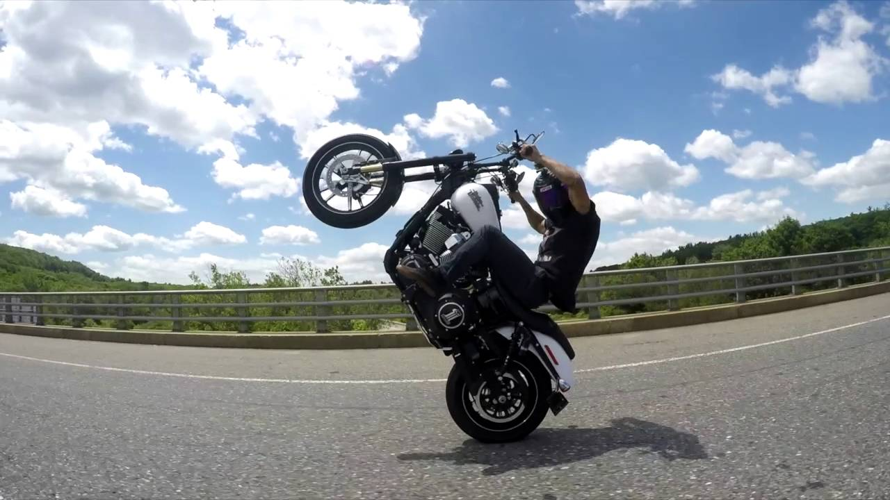 Seth Brisson Rides Sheldon's 120R Dyna Street Bob® - YouTube