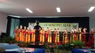 harmoni kediri choir juara 1 paduan suara pekan seni pelajar propinsi jawa timur 2017