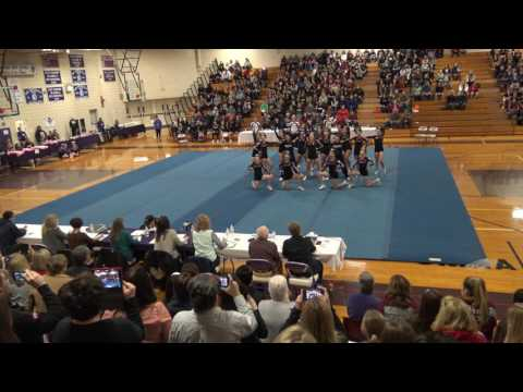 Noble Highschool Varsity Competition Cheerleading 2017