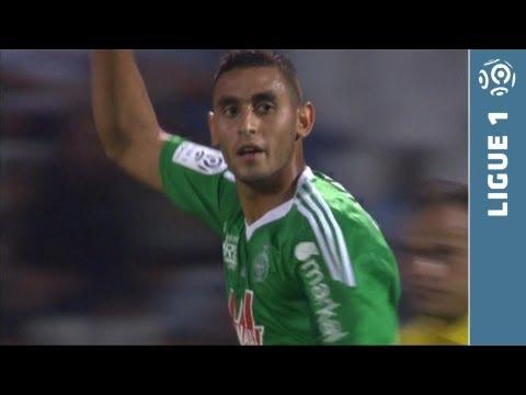 But Faouzi GHOULAM (32' pen) - Olympique de Marseille - AS Saint-Etienne (2-1 - 2013/2014