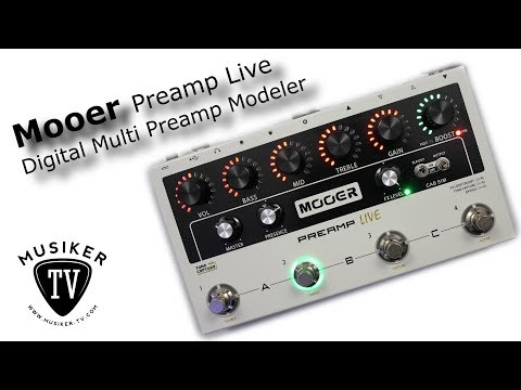 Mooer Preamp Live - Review