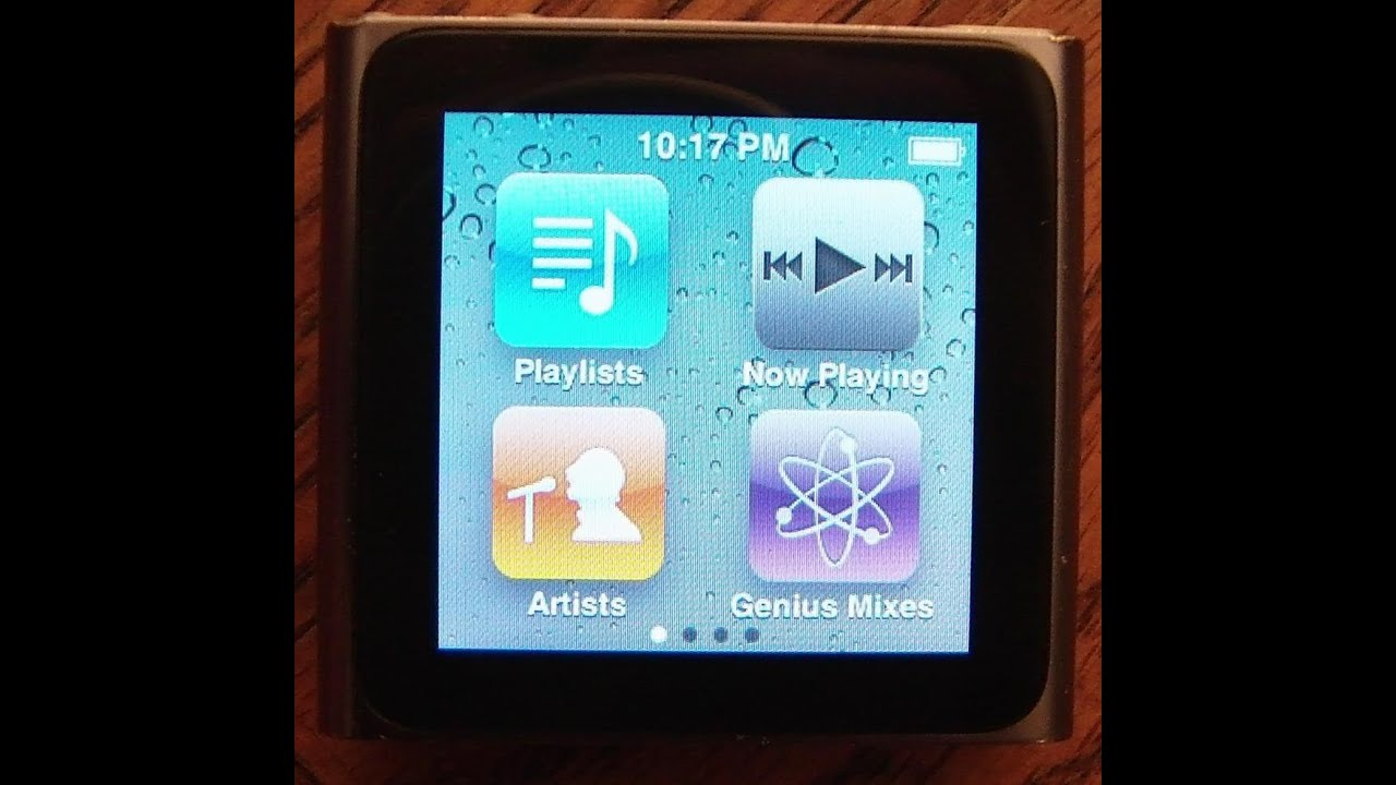 how to restore an ipod nano 6th generation to factory settings youtube rh youtube com how to restart ipod touch how to restart ipod touch 4th generation