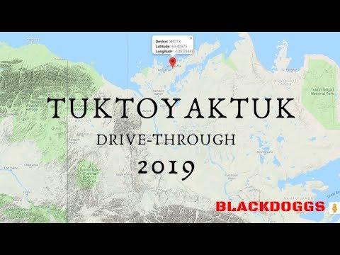 Tuktoyaktuk, NWT, Drive-through
