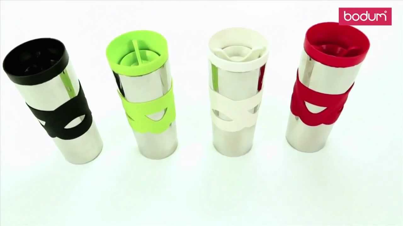 travel mug bodum mug de voyage inox double paroi sur. Black Bedroom Furniture Sets. Home Design Ideas