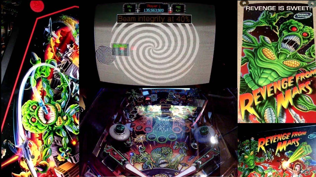 Bally's Pinball2000 - Revenge From Mars in 3D! Gameplay ...