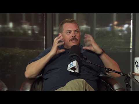 """Writer & Actor Kevin Heffernan on Growing Out His Mustache For """"Super Troopers 2""""  41318"""