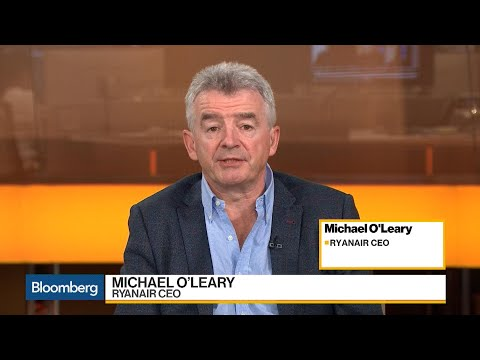 Ryanair CEO O'Leary Has No Doubt Fares Will Rise