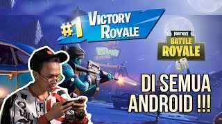 CARA INSTALL FORTNITE DI ANDROID