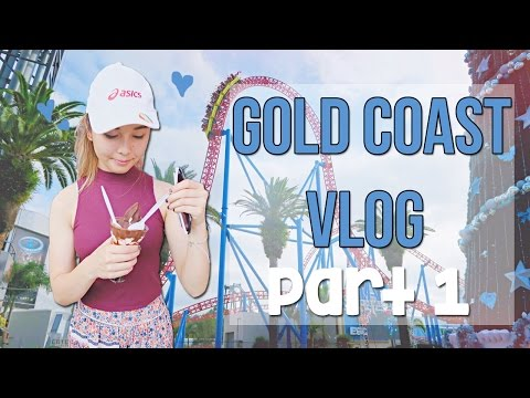 GOLD COAST VLOG | Movie World and Christmas Celebrations!