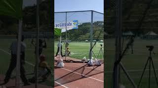 201008 순창군수배 vs 논산시 2회 선두타자 초구…