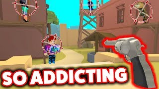 THIS GAME IS WAY TOO ADDICTING (ROBLOX WILD REVOLVERS)