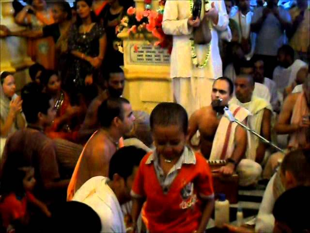 Balaram App.day Vrndavan 2011 Travel Video