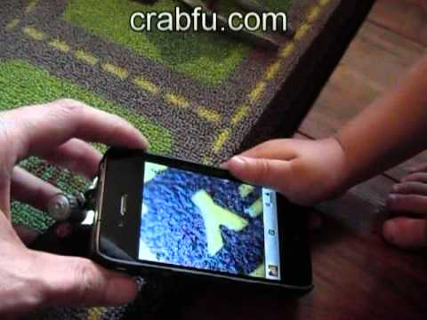 Crabfu $5 iphone microscope mod