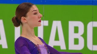 Анна Фролова Короткая программа Женщины Финал Кубка России по фигурному катанию 2020 21
